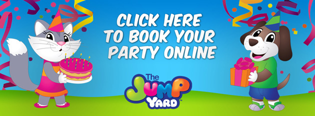 Book A Party at The Jump Yard!