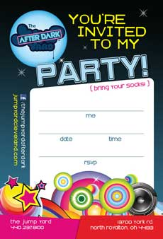 TeenNight Invitation